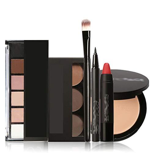Focallure Makeup Kit Makeup Set With 6colors/palette Eyeshadow Eyebrow Eyeliner Face Powder Matte Lipstick In One Makeup ()