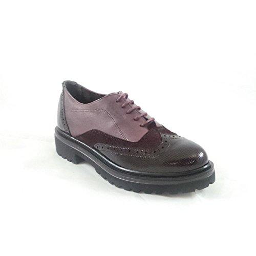 de Rojo mujer cordones Red para Zapatos Aeros UAqgvg
