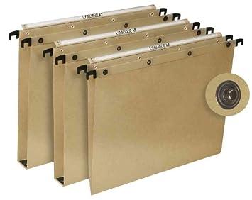 LOblique AZ - Lote de 25 archivadores colgantes para cajón AZO Tuareg Fond V