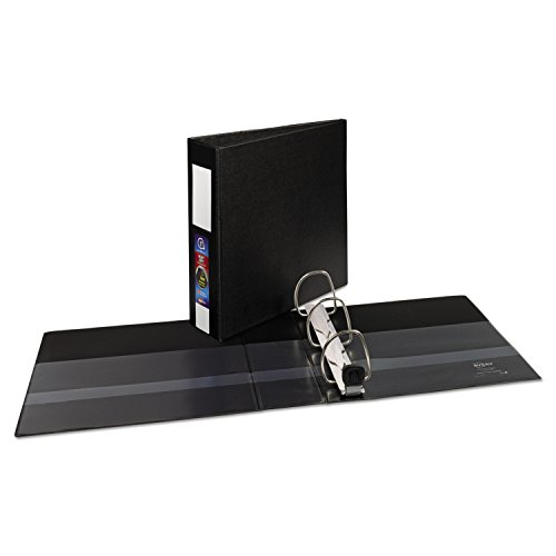 - Avery Heavy-Duty Binder with 3-Inch One Touch EZD Ring, Black (79993)