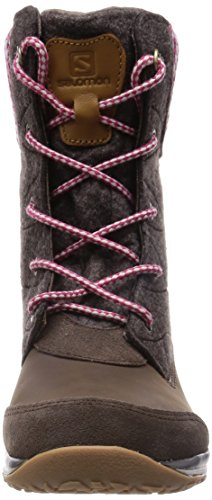 Salomon L37842100 - Botas de senderismo Mujer Marrón (Absolute Brown-X /             Absolute Brown-X /             L)