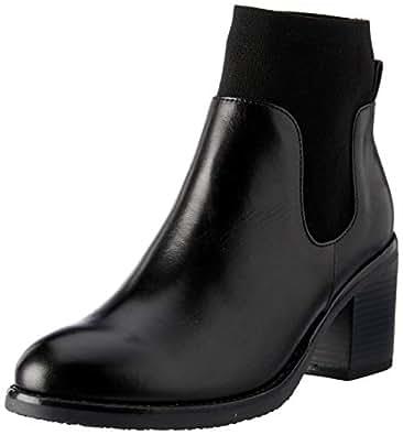 Sandler Fulton Women's Ankle Boot, Black Glove, 6 AU