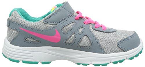 Nike Revolution 2 GS bambina, pelle liscia, sneaker bassa