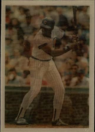 Amazoncom 1986 Sportflics Baseball Card 111 Leon Durham Near Mint