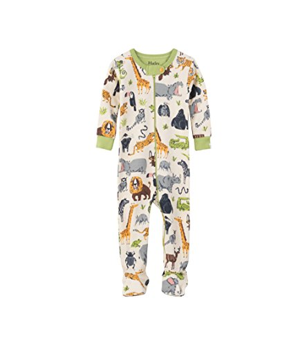Organic Baby Sleepers - Hatley Baby Boys Organic Cotton Sleeper, Safari Adventure, 18-24 Months