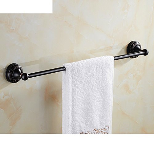 high-quality Copper and black copper Towel Bar/Single shot towel rack/European antique Towel Bar-B