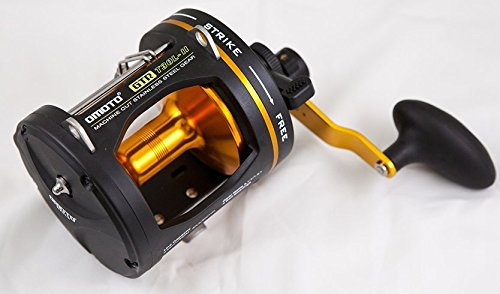 T30L-II Omoto DELUXE GTR 2-Speed Graphite Reel Level Wind Ocean trolling fishing