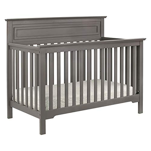 DaVinci Autumn 4-in-1 Convertible Crib in Slate Greenguard Gold Certified