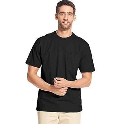 IZOD Men's Saltwater Short Sleeve Solid T-Shirt with Pocket