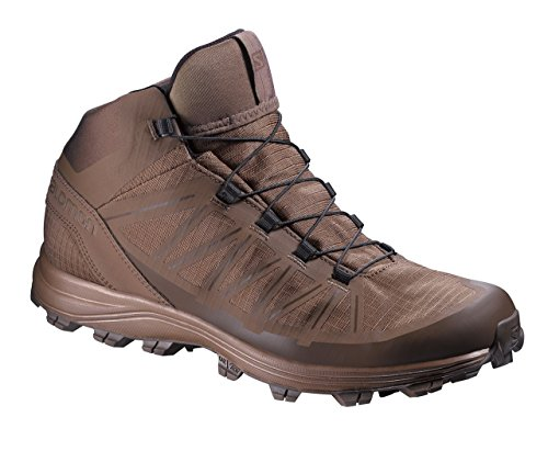 Salomon Forces Speed Assault Boots, Burro/Absolute Brown, Size 10.5 US, 379499