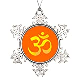 Cool fine Personalised Christmas Tree Decoration Meditation Indian