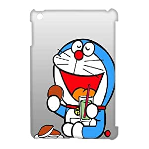 LSQDIY(R) Doraemon iPad Mini 3D Plastic Case, Personalised iPad Mini 3D Case Doraemon