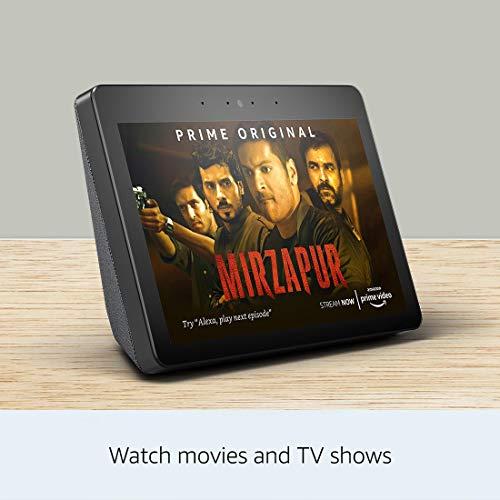 Echo Show – Premium sound and a vibrant 10.1″ HD screen – Black