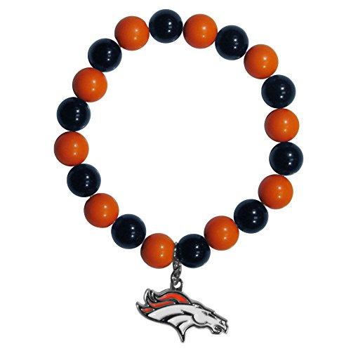 Nfl Sport Bracelet - NFL Denver Broncos Fan Bead Bracelet