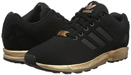 france adidas zx flux schwarz gold sohle d547b 84f48