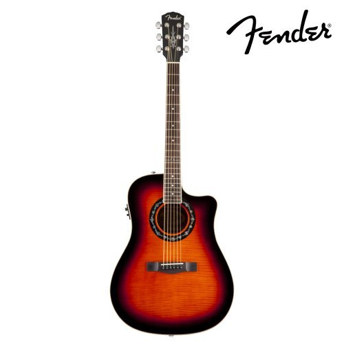 fender california series t bucket 300ce flame maple top import it all. Black Bedroom Furniture Sets. Home Design Ideas