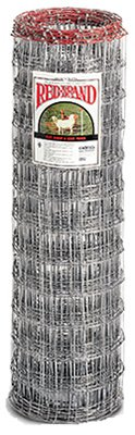 Keystone Steel & Wire 70305 Fencing, Sheep & Goat, 4 x 4-In. Galvanized Mesh, 4 x 100-Ft. - Quantity 9