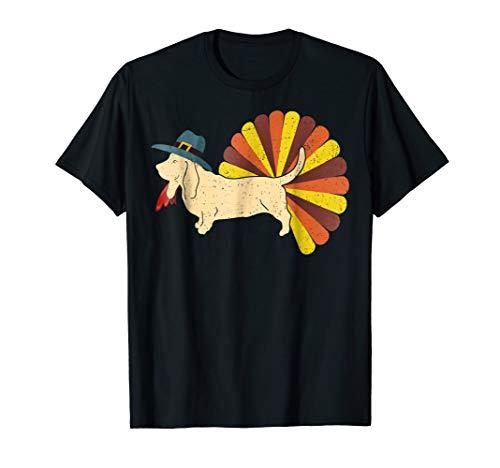 BASSET HOUND T-shirt, Turkey Costume Shirts -