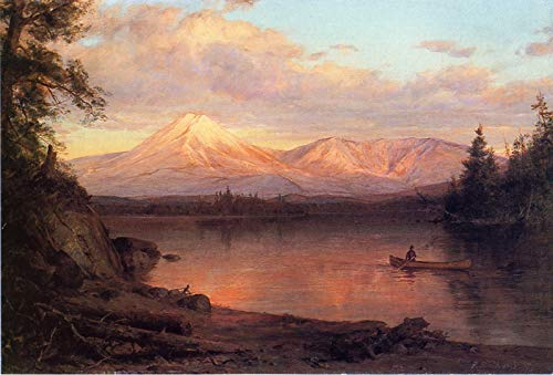 Canvas Collection Mount (Frederic Edwin Church View Mount Katahdin 1878 Private Collection 30