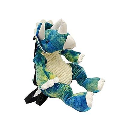 3D Stuffed Dinosaur Backpack, Dino Animal Plush Sloth Bag Toys Bookbag Anti-Theft schoolbag for Toldder Teens Children's Day Gift | Backpacks