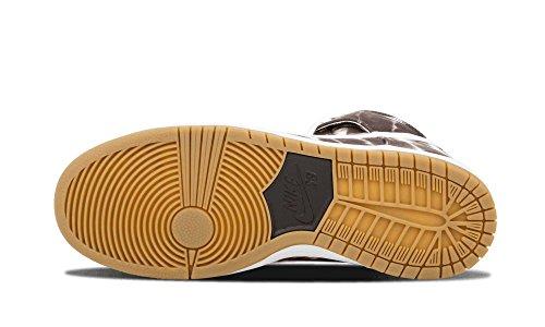 low priced 5312a 72394 ... Nike Herren SB Dunk High Premium Skate Schuhe Schwarz   Weiß-Weiß