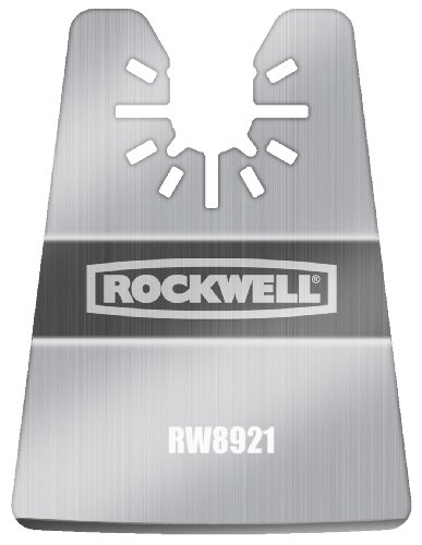 Multi Fit System (Rockwell RW8921 Sonicrafter Oscillating Multitool Rigid Scraper Blade with Universal Fit System)