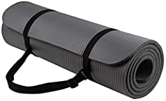 Overview: with double sided non-slip surfaces, BalanceFrom all-purpose premium exercise yoga mat comes with an excellent slip resistant advantage to prevent injuries. Exceptional resilience allow you to keep your balance during any exercise s...