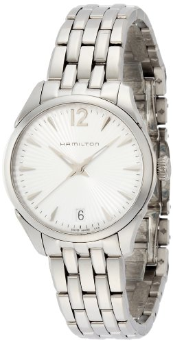 Hamilton Jazzmaster Silver Dial Stainless Steel Ladies Watch H42211155