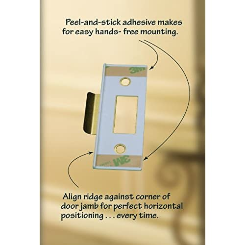 good Fix-A-Latch Mixed 2-Pack with Brass Finish