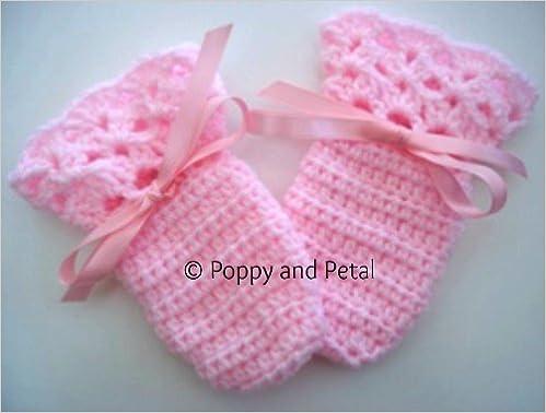 Baby Mittens Crochet Pattern Amazon Sally Steel