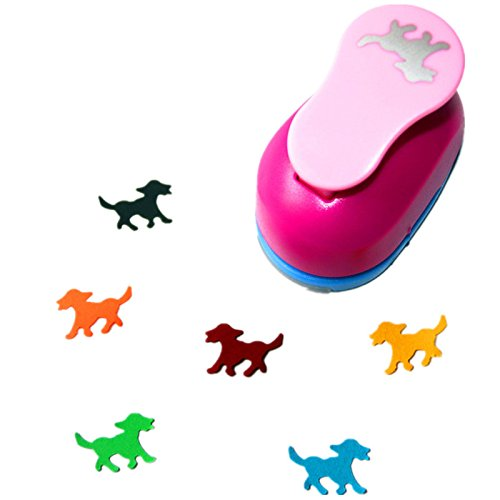 CADY Crafts Punch 1-Inch Paper Punches Puncher (Dogs)