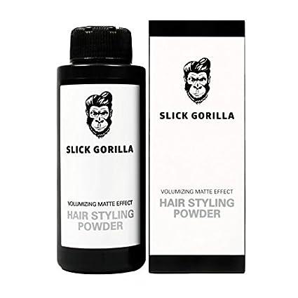 Slick Gorilla Hair Styling Powder 20g Polvere Di Styling Per Capelli Opaca   Amazon.it  Bellezza d7cb9c31c9ad