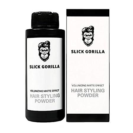 e8f91c3e9e35 Amazon.com : Slick Gorilla Hair Styling Texturizing Powder 0.70 Ounce (20g)  : Beauty