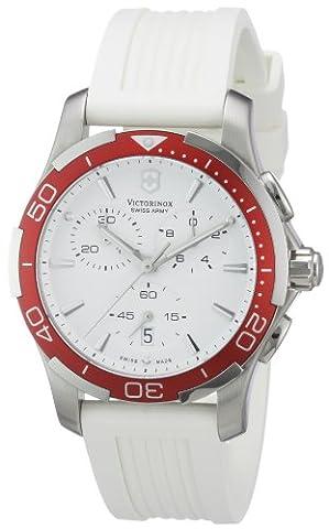 Victorinox Swiss Army Women's 241504 Alliance White Chronograph Dial Watch - Chronograph White Dial