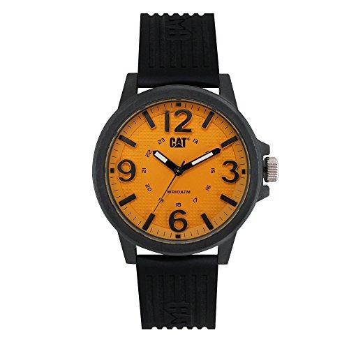 Caterpillar LF11121731 Reloj para Caballero con Caja de Plástico ABS y Resistencia al Agua de 10 ATM