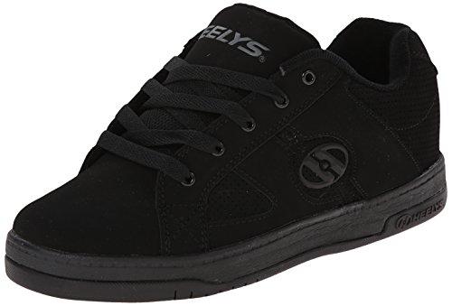 Heelys Split Skate Shoe (Toddler/Little Kid/Big Kid), Black/Black, 8 M US Big Kid by Heelys