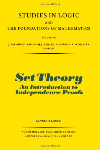 Set Theory: an Introduction to Independence Proofs (Studies in Logic and the Foundations of Mathematics 102)