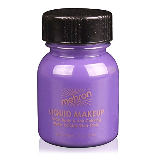 Mehron Liquid Face Paints - Purple P (1 (Airbrush Costumes Makeup)