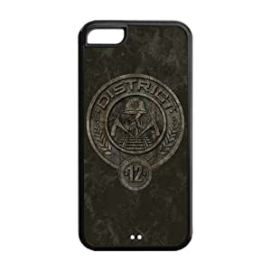 MMZ DIY PHONE CASECustomize Hunger Games Apple Case Suitable for iphone5C JN5C-1423
