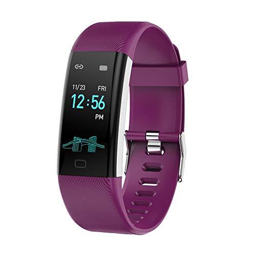 Smart Watch für Männer Smart Watch Frauen Smart Watch Armbanduhr BT Farbband Sport Herzfrequenzmesser Fahrrad Armband