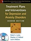 Product review for Treatment Plans and Interventions for Depression and Anxiety Disorders, 2e (Treatment Plans and Interventions for Evidence-Based Psychotherapy)