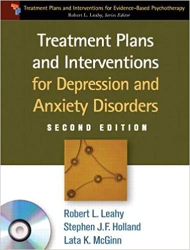 Treatment Plans and Interventions for Depression and Anxiety