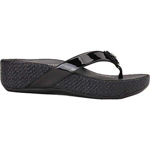 Vionic Women's, Mimi Low Heel Sandals Black 8 M