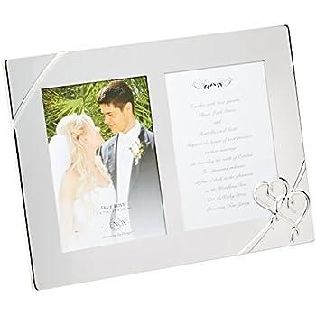 Lenox True Love Double Invitation Frame, 9 Inch