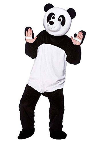 MagicBox Adult Plush Mascot Panda Costume