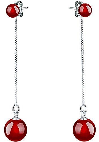Silver Plated Double Earrings Joyfulshine product image