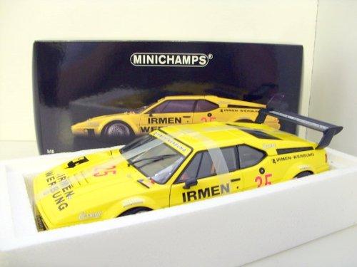 【MINICHAMPS/ミニチャンプス】1/18 BMW M1 TEAM CASSANI 1980/DRM WINKELHOCK B003276KOS