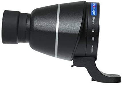 Black Color Lens2scope 10mm 1:4 Eyepiece for Canon EF//EF-S Lens Angle View