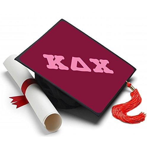 Sorority Big Little Reveal Costumes (Kappa Delta Chi Graduation Cap Hat Topper Decoration Sorority)