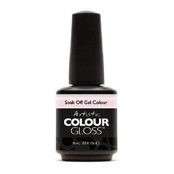 Amazon Com Artistic Nail Design Soak Off Colour Gloss Gel Light